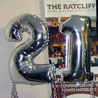 Photo of 21st Birthday Party Balloons