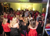 Celebrating Christmas for DW Sports Fitness - DJ'ing at Mere Brow Village Hall in Preston / Southport