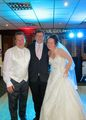 Providing all day Wedding MC and DJing services at the Wedding of Janene & Paul Howarth at Dunscar Golf Club in Bolton
